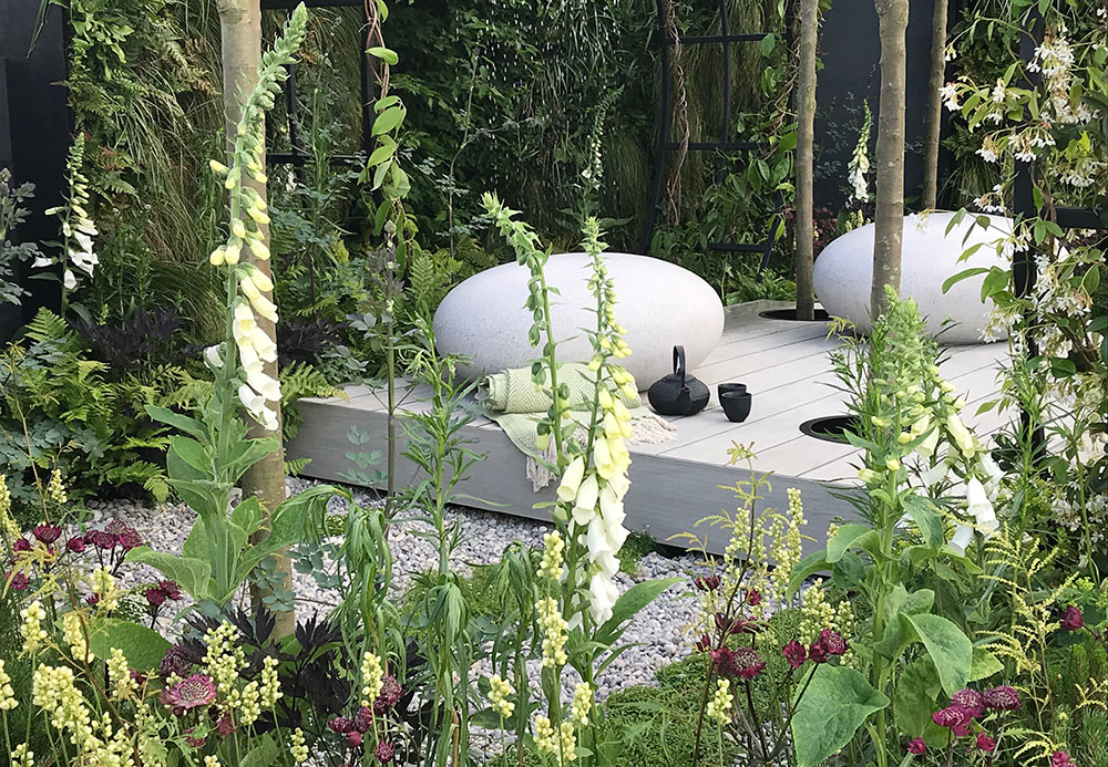 Rae Wilkinson's Space Within Garden at RHS Chatsworth