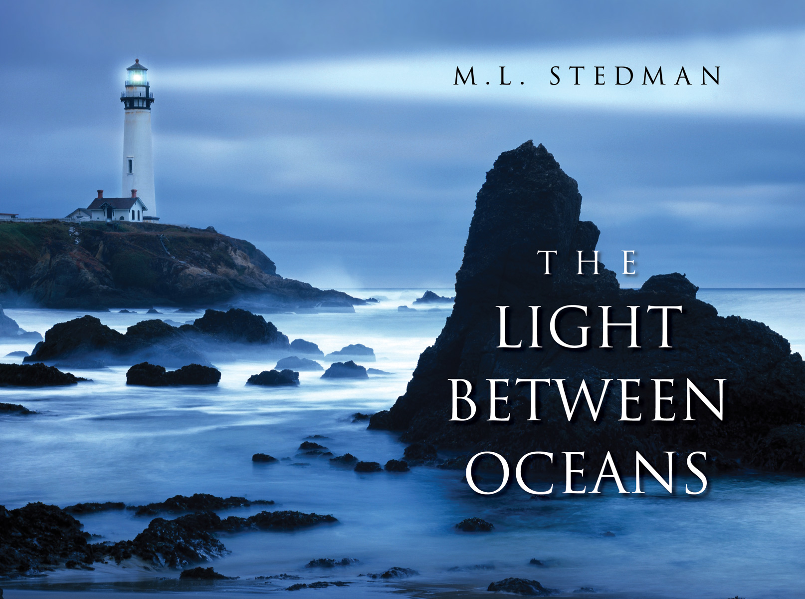 Kessell Design Light Bewtween Oceans book cover design